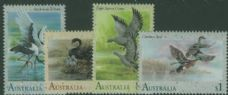 AUS SG1279-82 Waterbirds set of 4